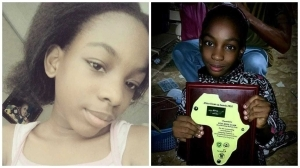 Meet 9-year-old girl, Misimi Isimi who advocates for African teenagers (photos)